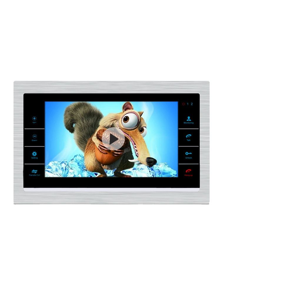 AHD 720P Video Door Phone Intercom Connect Up to 6 Indoor Screens