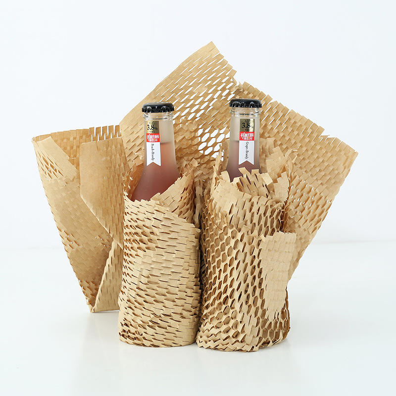 Honeycomb Paper Recyclable Kraft Paper Wrapping Cushioning Paper