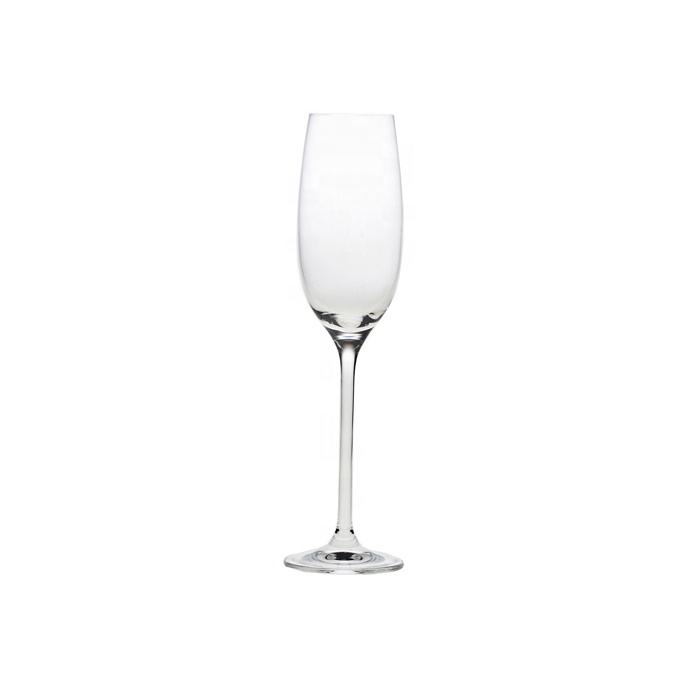 Fancy wedding toasting lead free champagne glass flute crystaled glassware