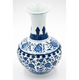 Flower Vase Jingdezhen Hand Painting Decoration Ceramic Blue And White Flower Vase
