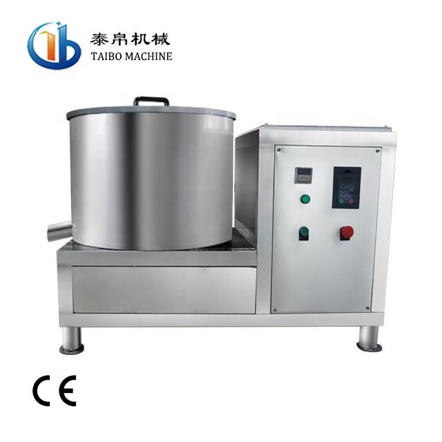 water droplets dry Conveyor Belt Type of vegetable drying machine