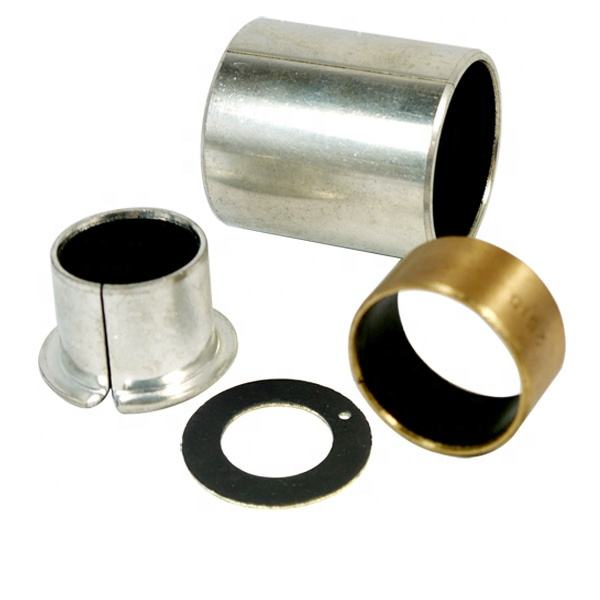 Supply PTFE Steel Composite Metal Bush Wrapped Sleeve DU Bearing Self Lubricating Slide Bushing