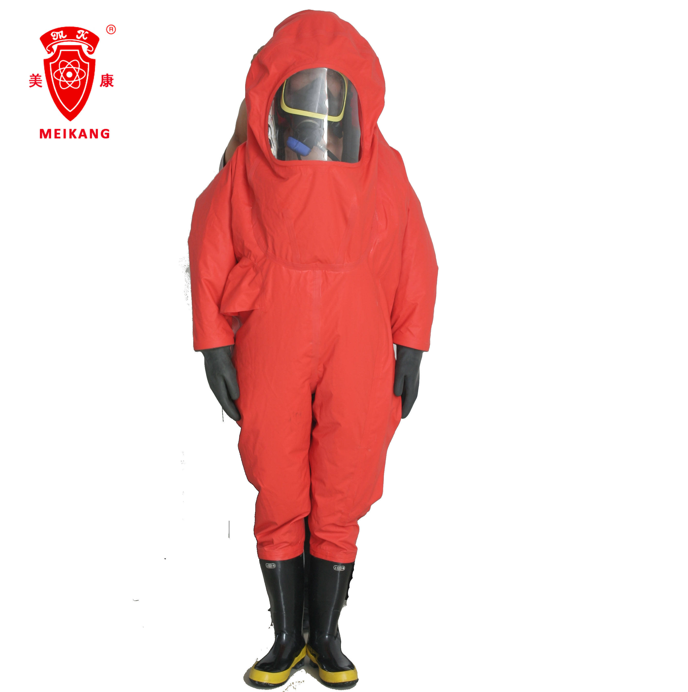 Hazmat gas tight Chemical protective suit safe clothing