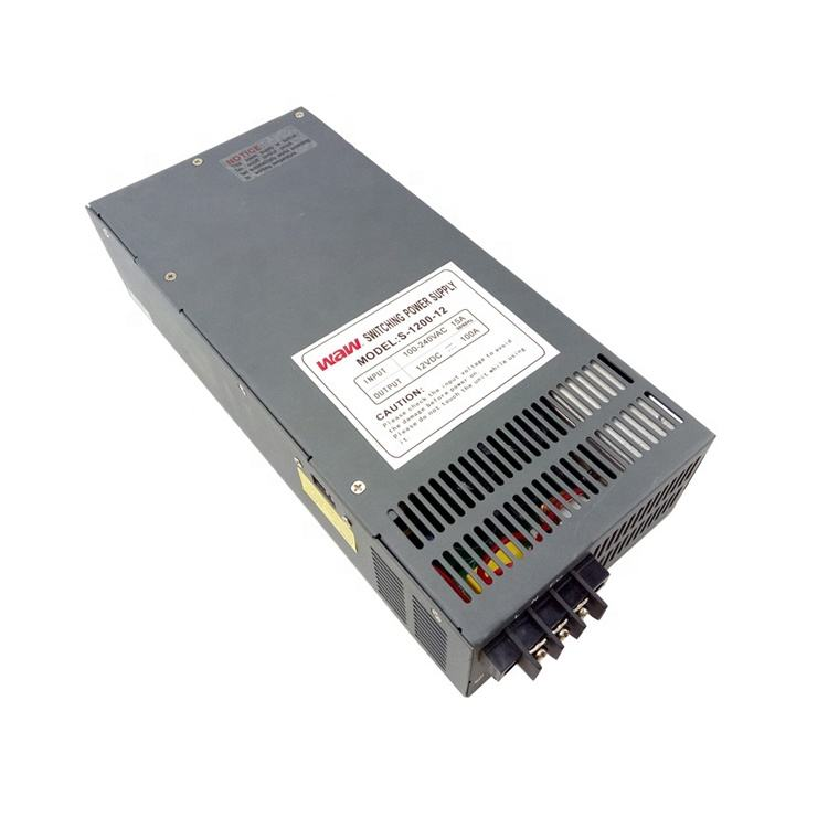 Factory direct price 36V 1200W Switching Power Supply 33.33A S-1200-36