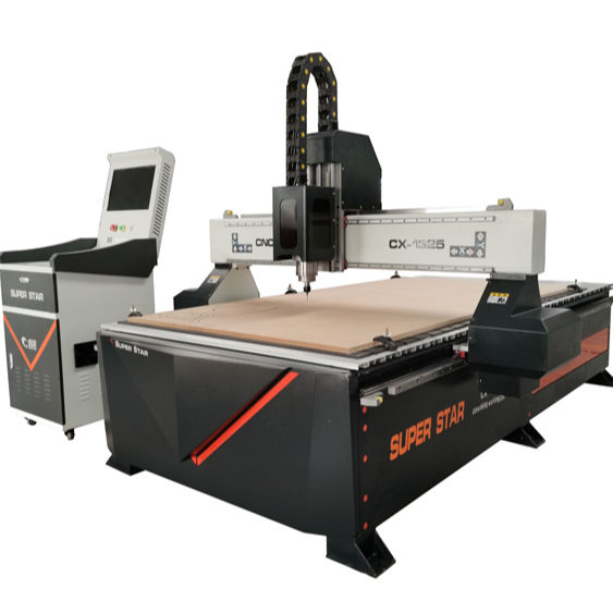 4x8 ft Automatic 3D Cnc Wood Carving Machine , 1325 Wood Working Cnc Router for Sale