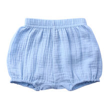 2020New Style  Wholesale Summer Casual soft cotton Linen Infant baby bloomers unisex baby ruffle shorts