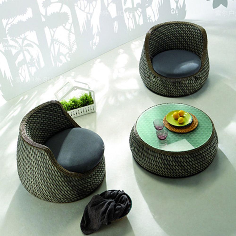 الحديثة الفاخرة المنزل قصب أثاث خارجي المعيشة غرفة طقم أريكة رتان اليد النسيج الأرائك داخلي مجموعات