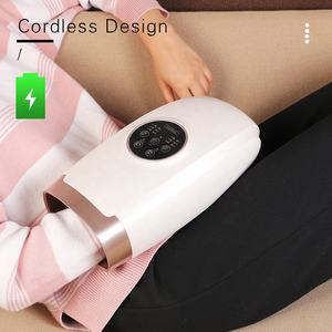 handheld air compression wireless battery operated Korea hand shaped massage electric vibrator acupressure hand palm massager