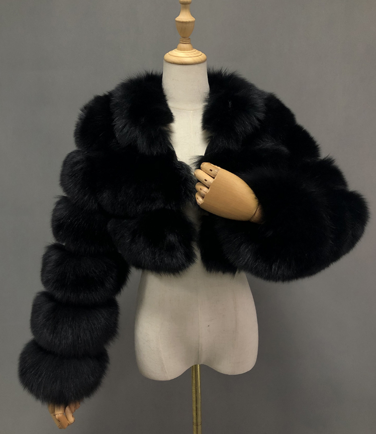 Fox Fur Coat Winter Coat Plush Woman Coat