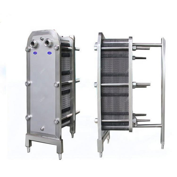 Best factory price food grade stainless steel cross flow plate heat exchanger