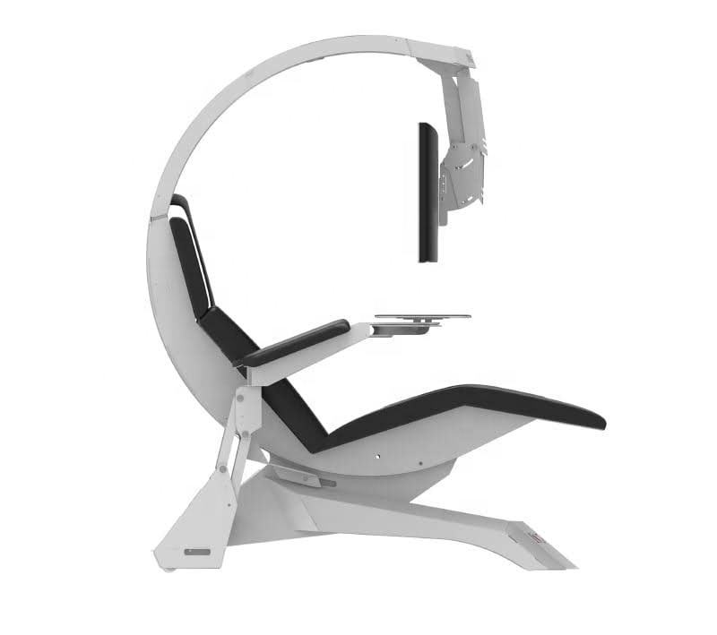 IW-C4 Most Insane INGREM gaming workstation chair design workstation with recline and support 1 - 3 monitors