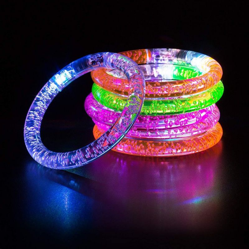 Hot sale cheap Concert Event Party LED Flashing Bracelet christmas Light Up led bracelets