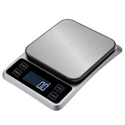 Kitchen Food Scale Electronic Household Coffee Weighing Timer Baking scale  Electronic scale