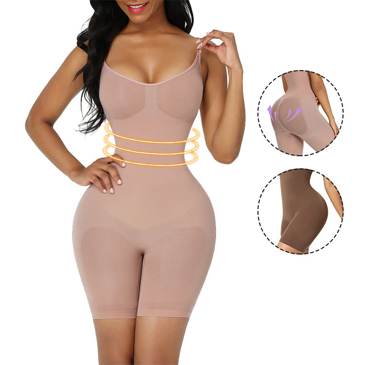 Best Selling Comfortable Soft Elastic Breathable Adjustable Shoulder Strap Shapewear For Women Body Shapewear Lady Body Shaper