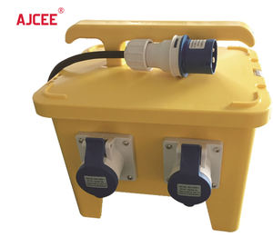 AJCEE Customize OEM ODM portable combination industrial plug socket outdoor box