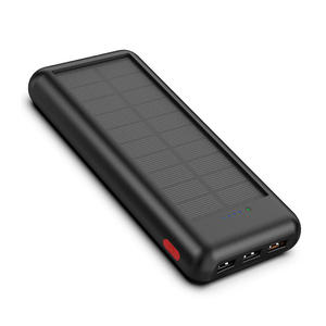 Outdoor portable solar power bank 20000mAh 24000mAh PD solar battery charger for cell phones