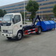 Small Garbage Hooklift Truck rubbish compactor truck