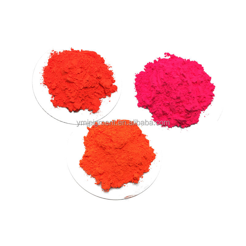 Organic Red Color Fluorescent Pigment for Plastics, Inks, Coating