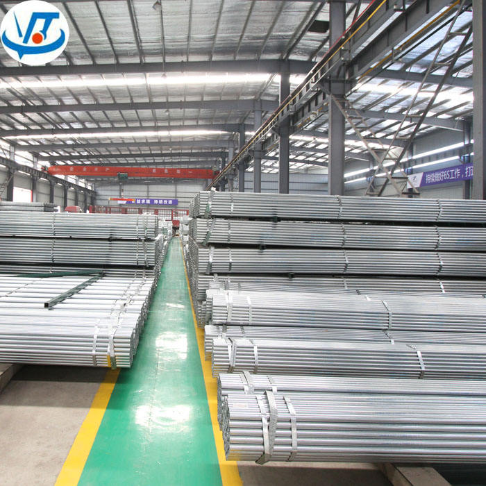 Hot Dipped Q235B Q345B Galvanized Round Pipe GI Steel Pipe