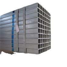 Hot Dipped Galvanized Pre Galvanized Square And Rectangular Hollow Section Steel Pipe And Tube