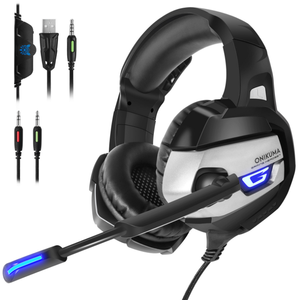 ONIKUMA Amazon Top Seller K5 Wired PS4 Gaming Hedset per Gamer