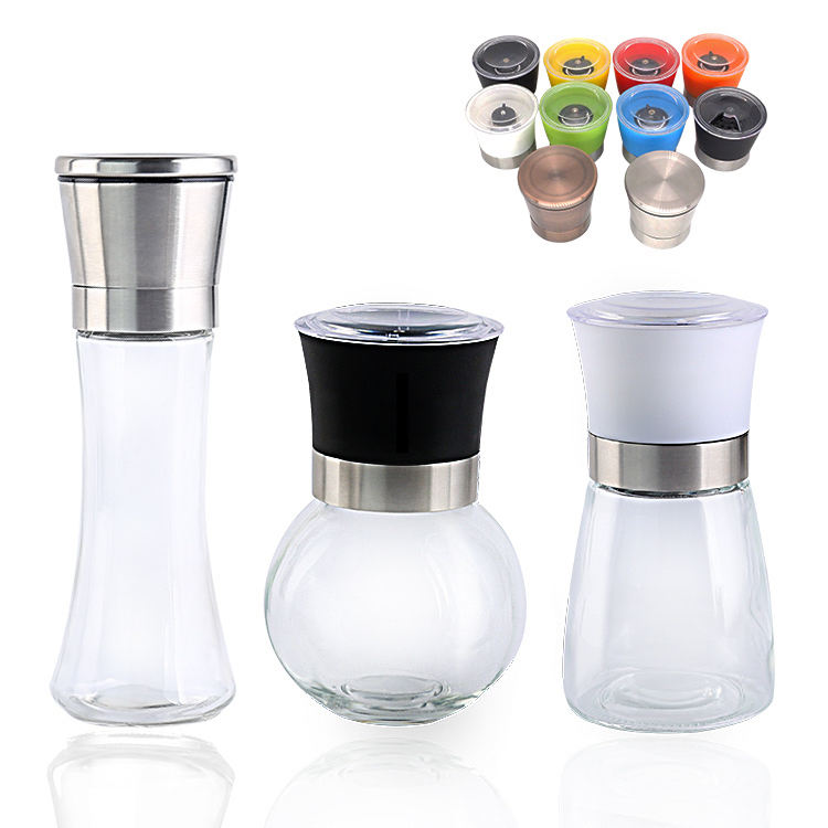 2020 New design kitchen accessories grinder salt pepper mill, Oem kichen tools 235g salt & pepper mills
