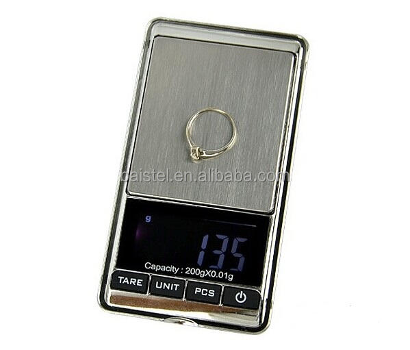 300g x 0.01g Mini Digital Scale Portable LCD Electronic Jewelry Weight Diamond Pocket Scales