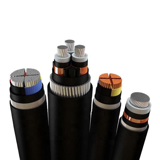 XLPE insulated and PVC sheathed Armored MV Power Cable with voltage 11KV up to 35KV