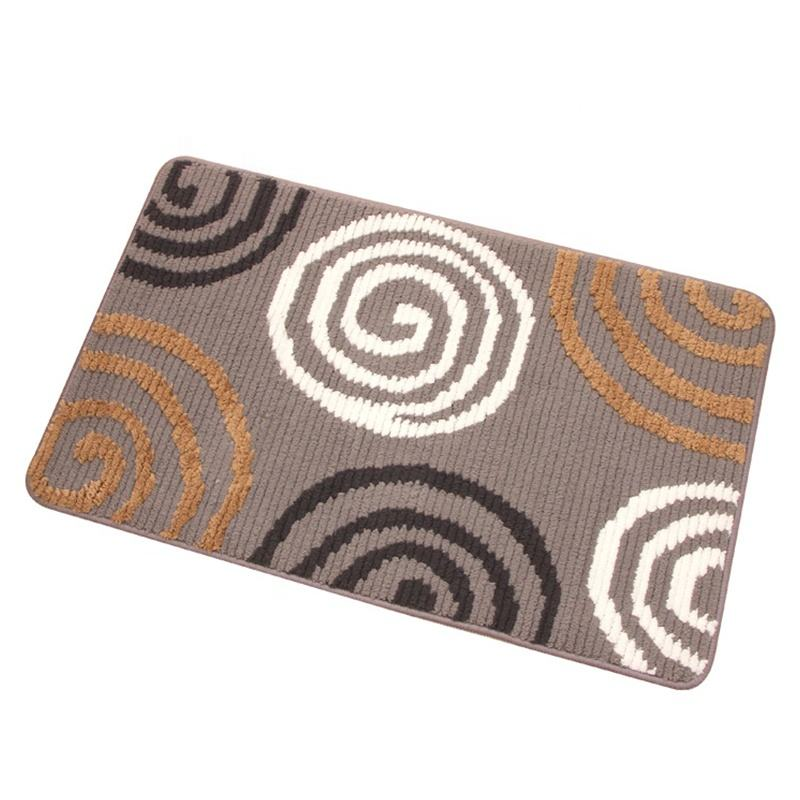Absorbent Bath Carpets Mats Simple Soft Household Bedroom Bathroom Floor Door Mats Easy to Take Care of