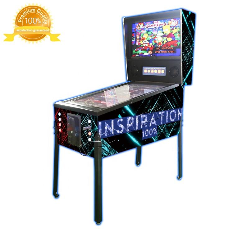 Onemore360 Coin Operated Electronic 49 Inch 4K Resolution Arcade Virtual Pinball Game Machine For Sale