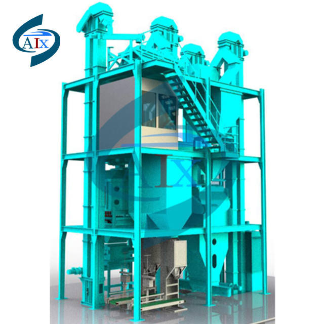 Poultry feed mill pellet poultry meal portable containerized feed mills