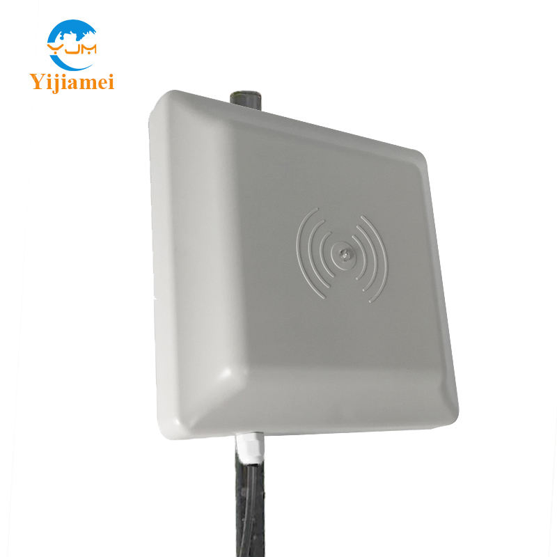 860~960MHz Work frequency Long-distance Integrated UHF RFID Passive Reader Writer used for Car Parking etc Management system