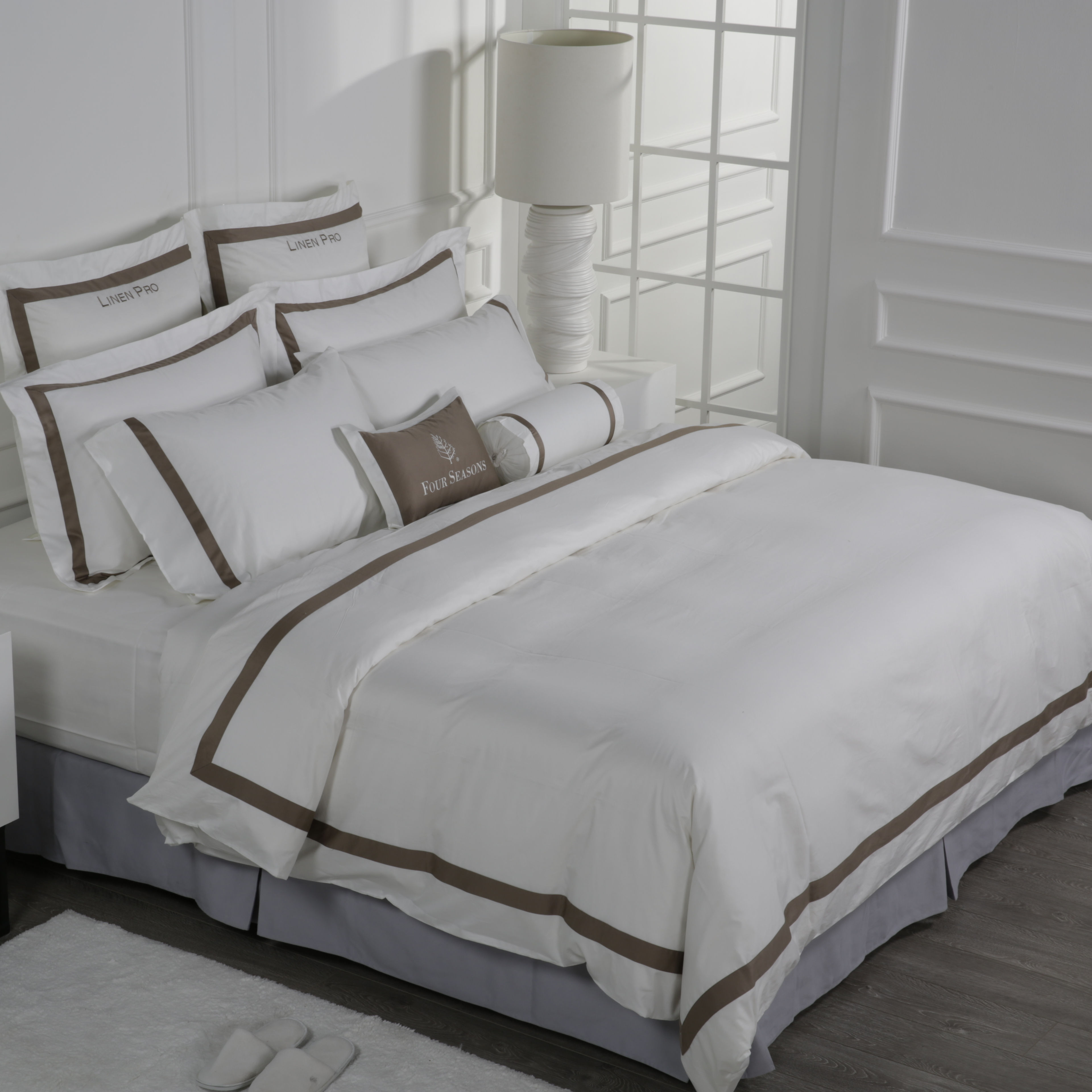 Wholesale Comforter Set Bedding Design Double Size 100 Cotton Plain Hotel Bed Sheets