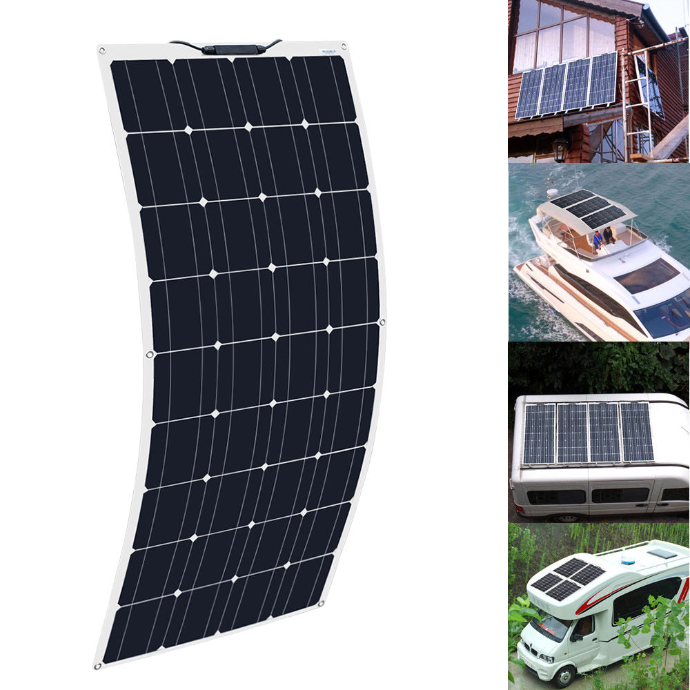 Excellent quality solar panel 100w mono flexible solar panels for hot selling