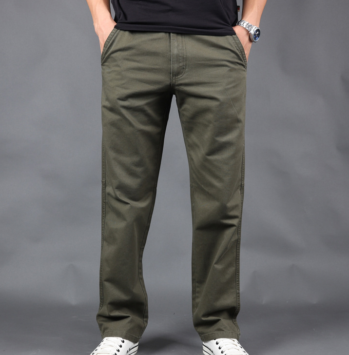 Wholesale New design spring casual cargo leisure cotton pants for men