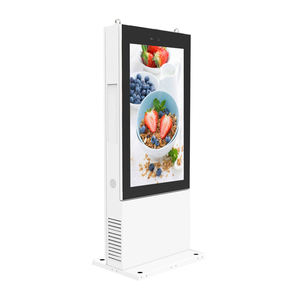 IP65 Waterdichte Outdoor Lcd-scherm Outdoor Android Wifi Lcd Video Advertentie Tvising Kiosk