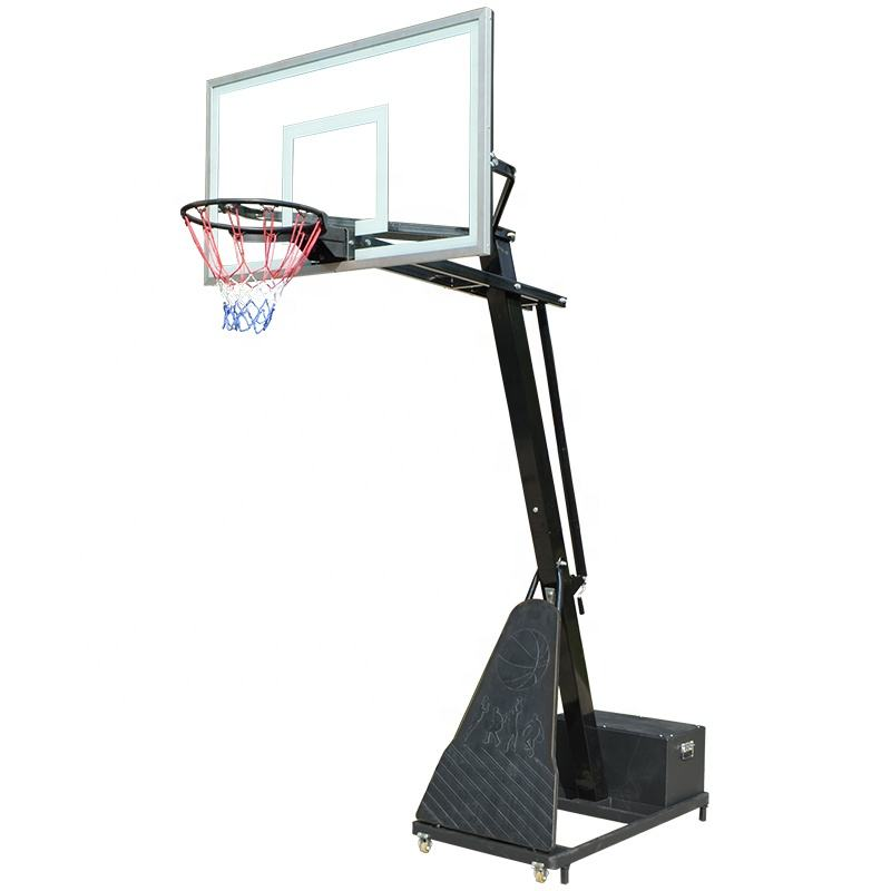 Factory Direct Sales Professional Height Adjustable Portable Basketball Hoop Stand Set