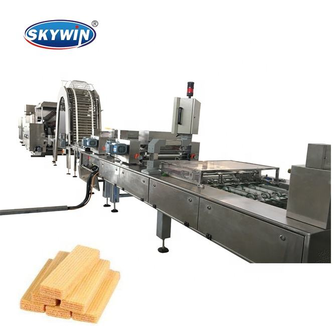 Chinese Wafer Biscuit Machine/Wafel Making Machine/Chocolade Wafer Productie Lijn
