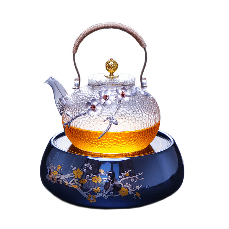 New Arrive 700ml 900ml 30oz Glass Teapot Tea pot Easy Use Tea Set For Make Flower Tea And Coffee