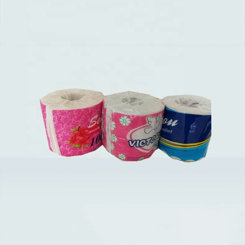 Cheapest 2 ply bulk toilet paper tissue paper toilet roll bamboo paper towels sample free of charge