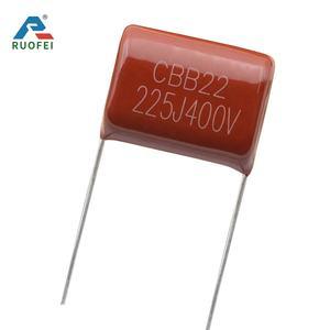 2.2uF 630v 5/% Metalized Polypropylene Film Capacitors P25 2 Pieces