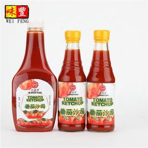 Chinese manufacture bulk tomato ketchup at factory prices for spaghetti