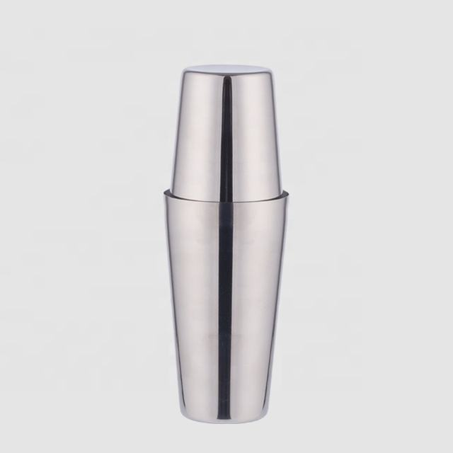 Factory Direct 750ml stainless steel boston cocktail shaker tin