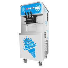 Oceanpower new snack commercial frozen yogurt maker air pump soft ice cream vending machine mcdonalds ice cream machine
