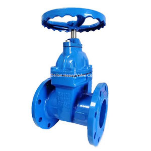 DN40-DN3000 metal seated cast ductile iron flanged gate valve