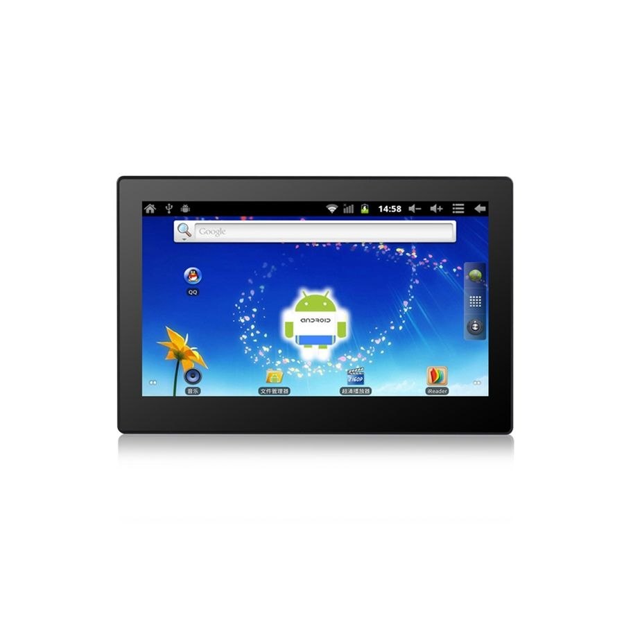 Android tablet with rj45 ethernet port Wall mount 10 inch Industrial Panel Quad Core for pos