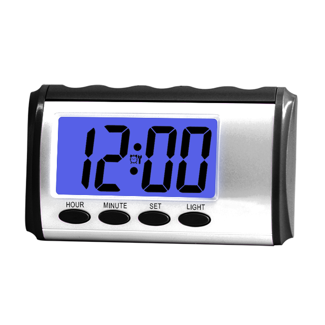 bm06001 chime time hourly German sound talking clock with LCD display AA battery operated