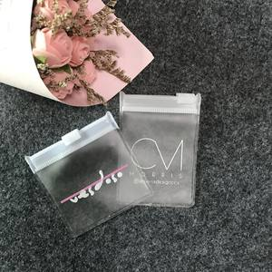 2019 Hot sell Small Pvc Jewelry Ziplock Bag,Custom Printed Slide Lock Plastic Zipper Bag