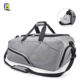 Sports Duffle Bag with Shoe Compartment Waterproof Large Gym Bag Travel Holdall Bags Weekend Bag for Men and Women 45 L