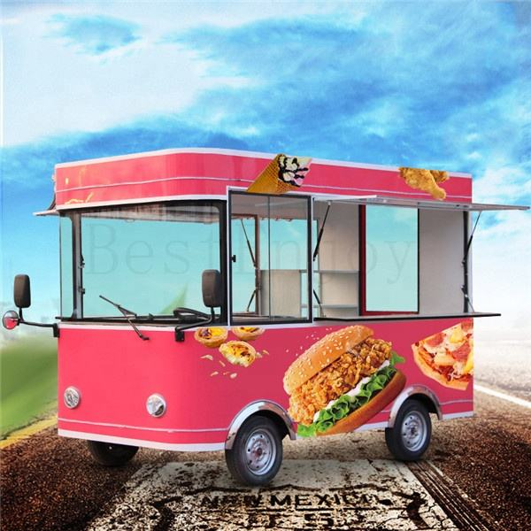 High Quality Mini Cheap Price Small New 4 Wheel 4X4 Food Electric Car Cart